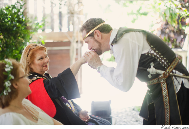 Terry angela a wiccan wedding karla korn west palm beach they had an awesome lord of rings styled wiccan wedding terry is an elder of the religion thank you for this wonderful experience junglespirit Gallery